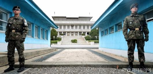 [사진]남북 공동선언 1주년 앞둔 판문각