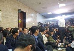 한국당, 사개특위 회의장 '봉쇄'<br>민주당과 본격 충돌