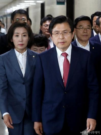 [사진]국회 찾은 황교안