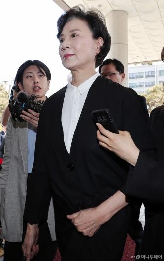 [사진]이명희, '굳게 다문 입'