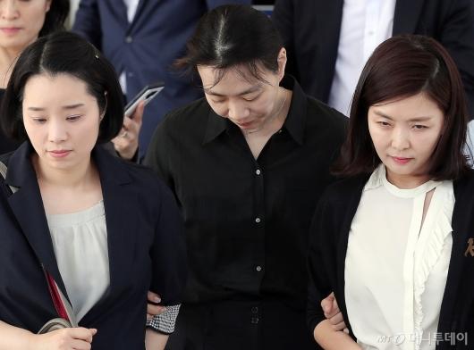 [사진]고개숙인 조현아