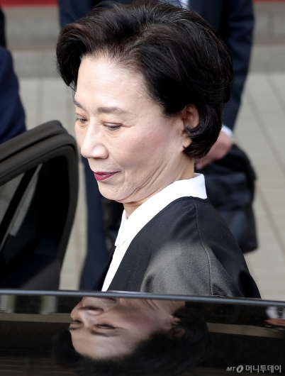 [사진]공판 마친 이명희
