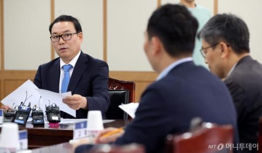 [사진]발언하는 정한중 검찰과거사위원장 대행