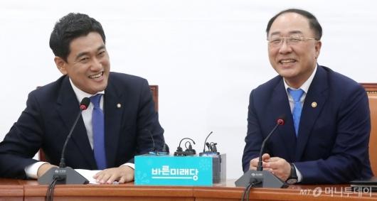 [사진]오신환, '웃음 가득'