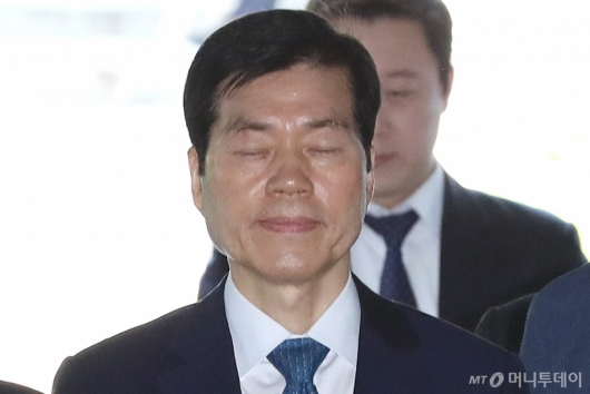 [사진]법정 향하는 김태한 삼바 대표