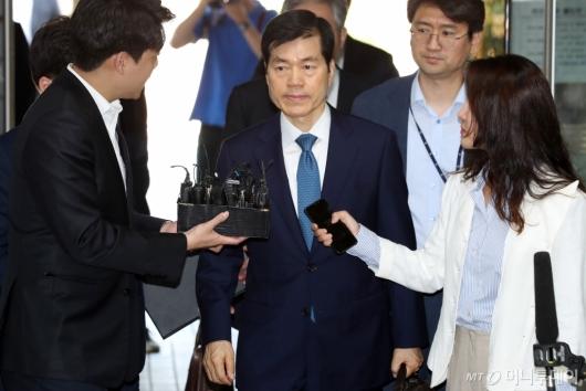 [사진]'묵묵부답' 김태한 삼바 대표