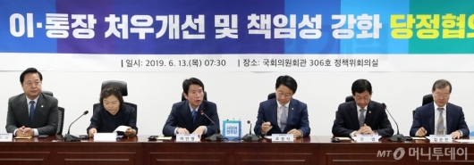 [사진]당정협의 발언하는 이인영 원내대표
