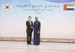 사우디·UAE 실세왕자 잡은 이재용<br>삼성 중동사업 속도낸다