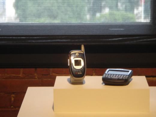 대통령 저격과 삼성 휴대폰