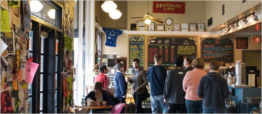 ▲ 캔자스시티에 있는 '브로드웨이 카페'