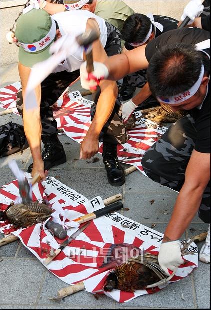 [사진]일본의 국조 죽이는 HID