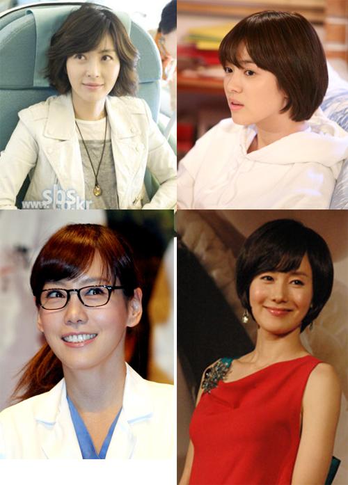 ↑ 송윤아,송혜교,김지수,김정은(시계방향)