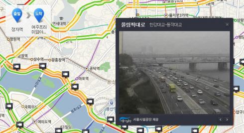 네이버 지도, CCTV 등 교통정보 대폭 추가