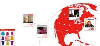 '유니클로' 웹으로 소통하다