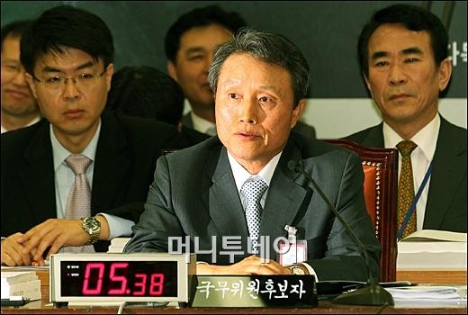 ↑ 권도엽 국토해양부 장관 후보자