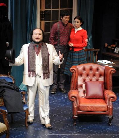 ↑ 아가사 크리스티 원작의 추리극 '쥐덫'이 대학로 무대에 올랐다. ⓒ세종문화회관