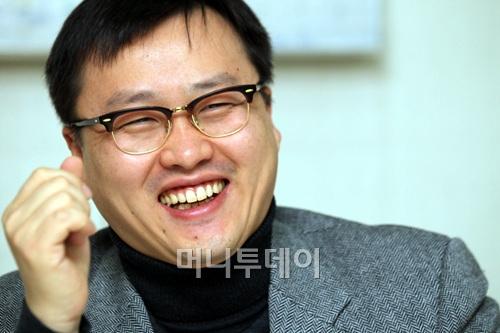 ↑윤상규 네오위즈게임즈 대표이사 ⓒ사진= 이동훈 기자