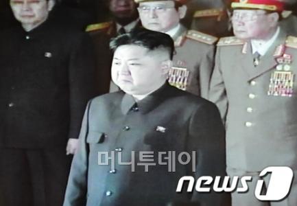 ↑김정은 북한 당 중앙군사위원회 부위원장