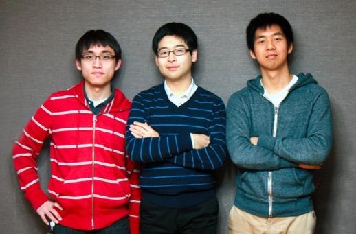 ↑아이디인큐 창업자 3인방. 왼쪽부터 추승우 개발이사, 김동호 대표, 이성호 사업이사. 이들은 모두 1987년생, 올해 만으로 25세다.