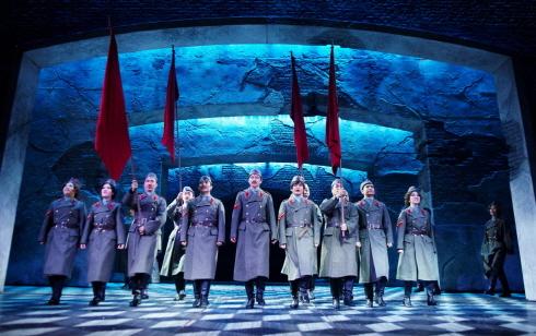 ↑ 뮤지컬 '닥터지바고'는 동명의 장편소설을 원작으로 만든 러시아 혁명시기, 전쟁 속 세 남녀의 사랑과 열정을 다룬 서사극이다. ⓒ오디뮤지컬컴퍼니
