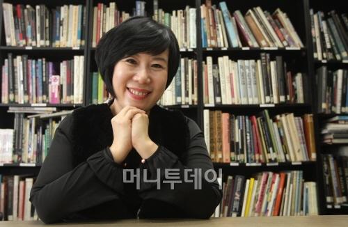 김해련 스파이시칼라 대표(사진=머니투데이 이기범 기자)