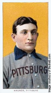 ↑ &lt;b&gt;가장 비싼 '31억원짜리 야구카드'&lt;/b&gt;  <br /> 야구 카드(baseball card)는 우리에게 생소한데 우표 수집과 비슷하다고 보면 된다. 가장 비싼 야구 카드는 1909년 발행된 피츠버그 선수, 호너스 와그너 카드로 '야구 카드의 모나리자'라고 불린다. 최근 거래 가격이 280만달러(약 31억원 )였다. 피츠버그의 홈구장인 PNC 파크 정문 앞에는 명예의 전당에 헌액된 호너스 와그너의 동상이 서 있다.