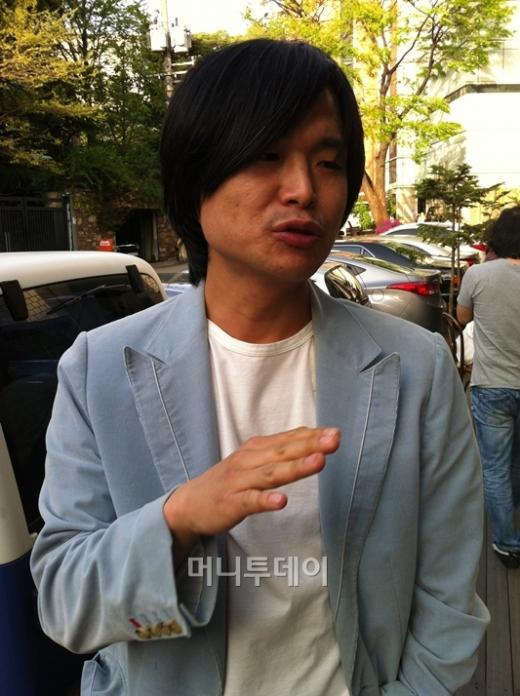 ↑주진우 시사IN 기자