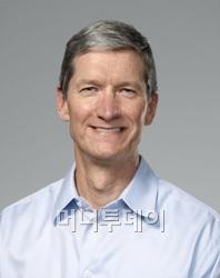 ↑팀 쿡 애플 CEO.