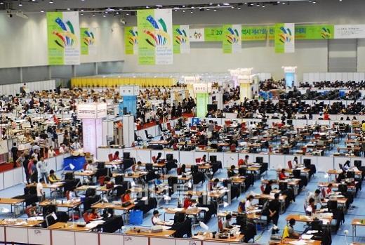 ↑ 2012년9월 대구에서 열린 전국기능경기대회.ⓒ한국산업인력공단