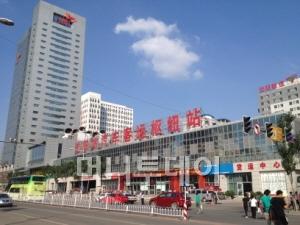 SK네트웍스가 2010년 6월에 오픈한 중국 랴오닝셩의 션양버스터미널.