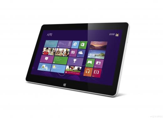 접으면 태블릿, 펼치면 노트북 'LG 탭북'