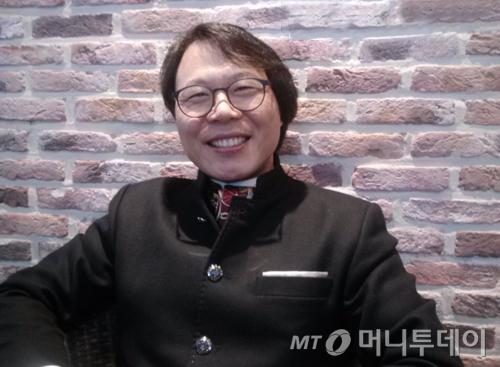 ↑김경만 경매 지분 전문 투자가ⓒ이재윤 기자