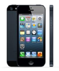 ↑LCD를 채택한 대표적인 스마트폰 '아이폰5'.