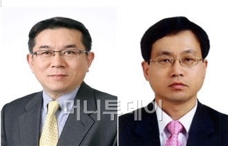 김준동 에너지자원실장(왼쪽), 이운호 무역위원회 상임위원