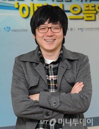 텍스트앳을 개발한 스캐터랩 김종윤 대표 / 사진=구혜정기자