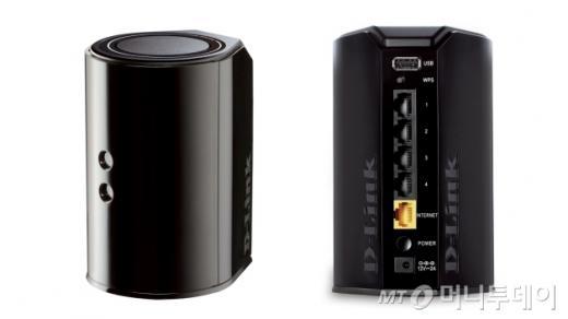 기가 와이파이 지원하는 DIR-850L 측면과 뒷면 /사진제공=디링크코리아