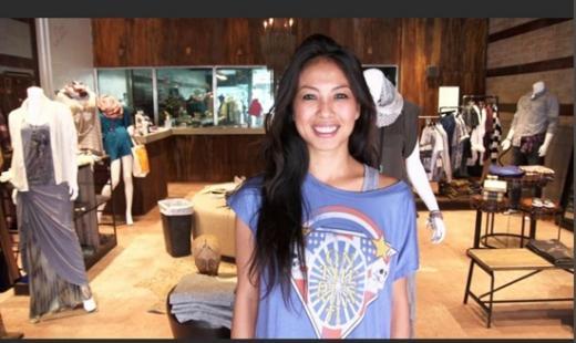 역시 다운타운프로젝트로부터 무이자대출을 받아 패션숍을 연 사라 니스페로스. /사진출처:다운타운프로젝트