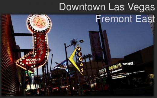 스타트업과 소규모가게들의 삶의 공동체가 들어설 라스베가스 프레몬트거리. /사진출처:다운타운프로젝트 홈페이지(downtownproject.com)