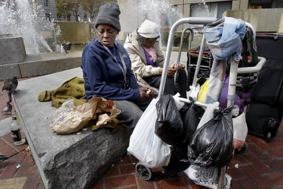 샌프란시스코의 노숙자들. <사진출처:SFGate>