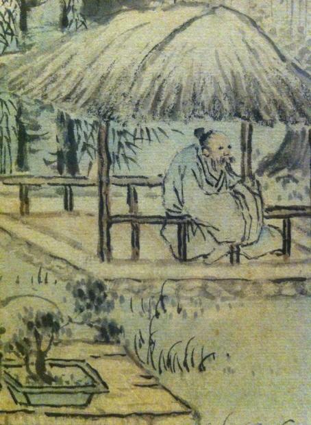 강세황, <초옥에서 즐기는 여유>, 조선, 1748. 개인소장. /사진= 선승혜