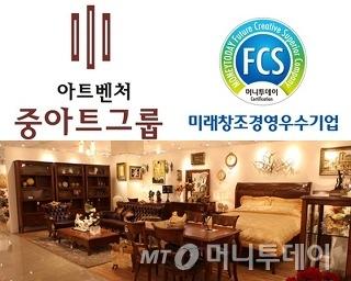 중아트그룹, 2013  미래창조경영우수기업 선정