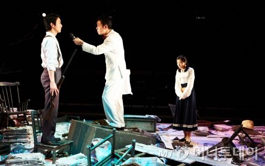 연극 '가모메' 공연장면  /사진제공=두산아트센터