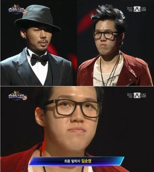 가수 오디션 프로그램 '슈퍼스타K5' 출연자 (위)장원기(왼쪽), (아래)임순영/사진=Mnet