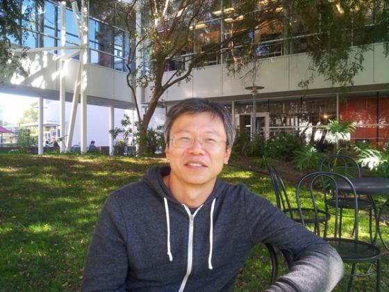 2003년 토종한국인으로 처음으로 구글 본사에 입사한 이준영 검색팀 테크니컬리더 매니저. /마운틴뷰=유병률기자
