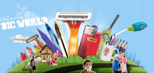 프랑스 소비재기업 비크의 제품들. /사진=비크 웹사이트