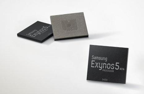 ↑삼성전자 애플리케이션프로세서 '액시노스' 제품