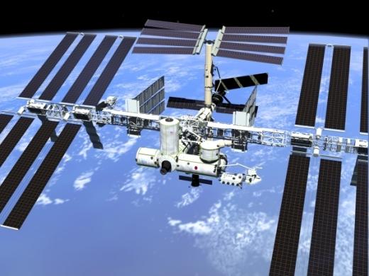 우주정거장(ISS)/자료=항우연