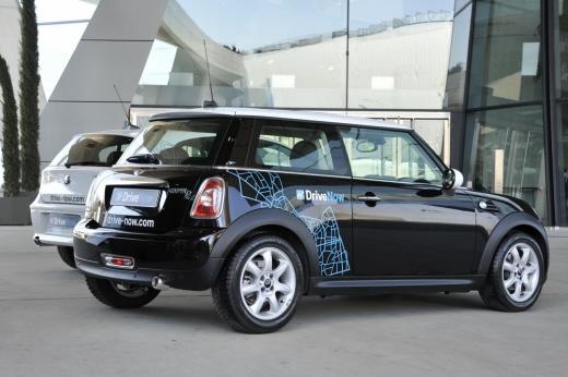 독일 고급자동차회사 BMW와 렌터카회사 식스트가 함께 꾸린 카셰어링 조인트벤처 '드라이브나우'에서 제공하는 차량. /사진=BMW블로그(bmwblog.com)