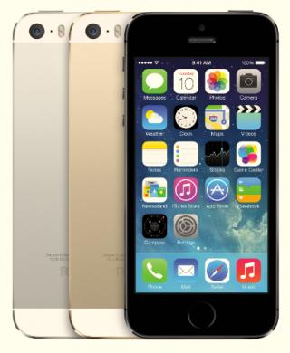 아이폰5S. /사진제공=애플