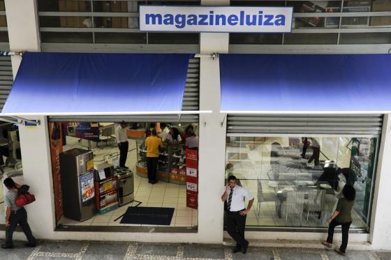 브라질 상파울루에 있는 마가진루이자 매장. /사진=블룸버그